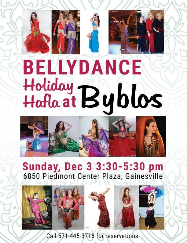 Bellydance party at Byblos in Gainesville, VA
